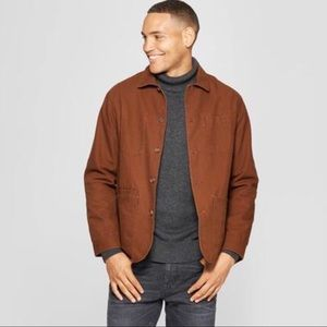 GOODFELLOW & Co Brown Standard Chore Blazer Jacket